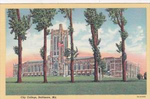 Maryland Baltimore City College Curteich