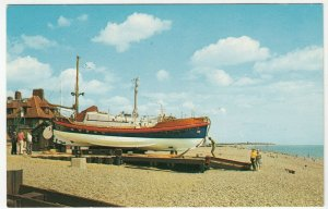 Shipping; Lifeboat & Beach, Aldeburgh (Alfred & Patience Gottwald) PPC, Unposted