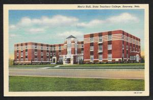 Mens Hall State Teachers College Kearney Nebraska Unused c1940