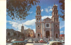 Mexico Old Vintage Antique Post Card Catedral de Ciudad Juarez y Antigua Miss...
