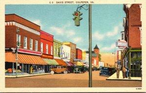 Virginia Culpeper Davis Street