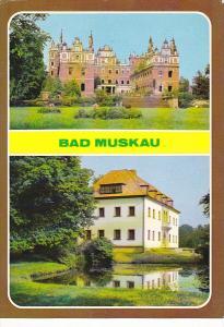 Germany Bad Muskau  Schlossruine