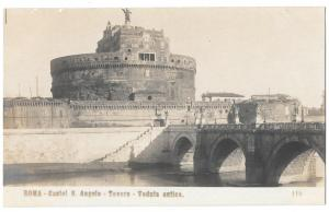 Italy Roma Castel S Angelo Tevere Ancient Castle Bridge Rome