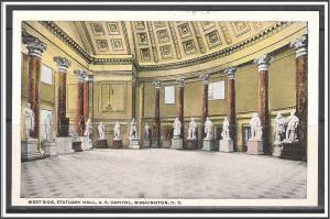 Washington DC West Side Statuary Hall US Capitol - [DC-094]