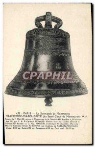 Old Postcard The Bell Savoyard Francoise Marguerite Paris Montmartre