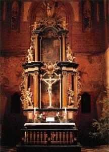 Zarrentin Meckl. Kirche Altar von 1733 Church