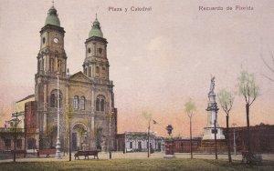 URUGUAY, 1900-1910's; Plaza Y Catedral