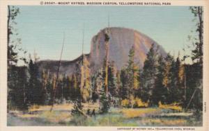 Mount Haynes Madison Canyon Yellowstone National Park Curteich