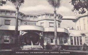 California Pasadena Robinson Hall Artvue