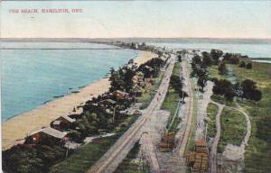 The Beach, Railroad Tracks, HAMILTON, Ontario, Canada, PU-1906