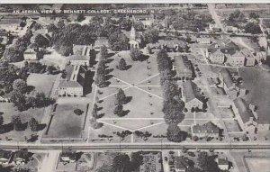 North Carolina Greensboro An Aerial View Of Bennett College Artvue