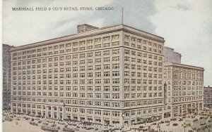 CHICAGO, Illinois, 1900-1910s; Marshall Field & Co., Retail Store, version 2