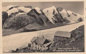Franz Josefshaus Glacier Austrai Postcard