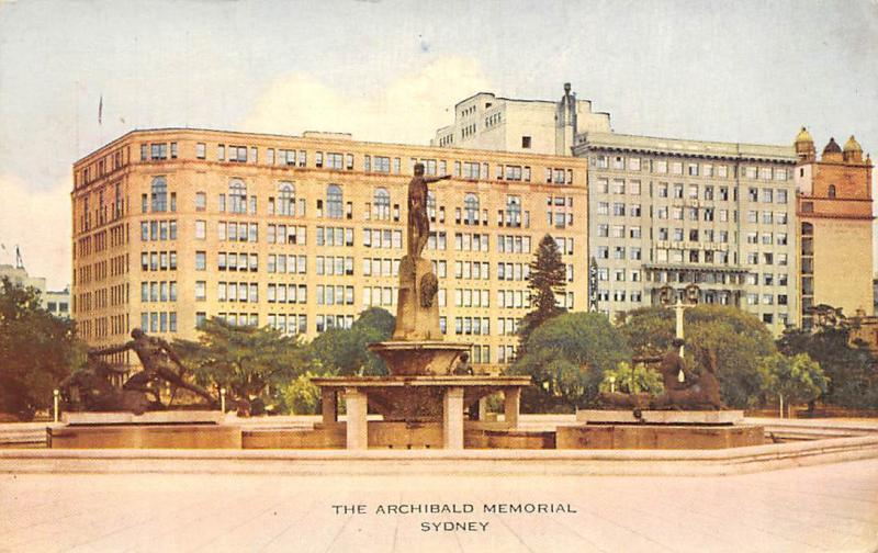 Australia Sydney The Archibald Memorial 1943