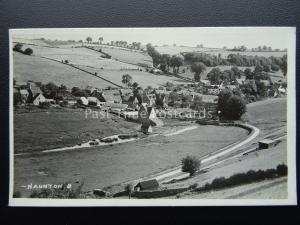 Gloucestershire NAUNTON Village View - Old RP Postcard by Frank Packer 8