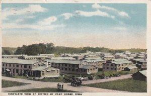 IOWA, PU-1921; Bird's-Eye View Of Section Of Camp Dodge