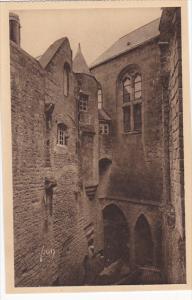 France Abbaye du Mont Saint-Michel Cour de la Merveille