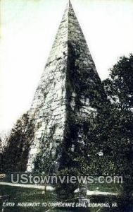 Monument To Confederate Dead