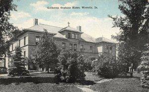 LP83 Lutheran Orphans Home Waverly   Iowa Postcard