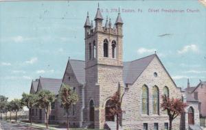 EASTON, Pennsylvania, PU-1910; Olivet Presbyterian Church