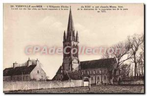 Postcard Old Vierville L'Elegante arrow