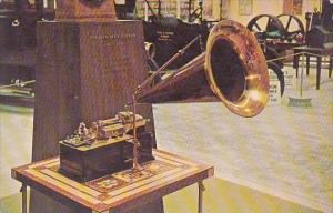 Gold Plated Electric Edison Victor Phonograph Edison Winter Home and Museum F...