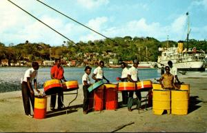 St Lucia Happy Landings In Castries With Steel Band 1965