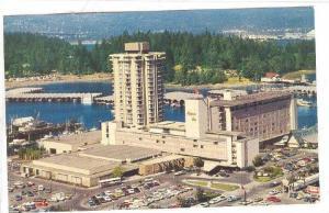 The Bayshore Inn, Western International Hotels, Vancouver, B.C., Canada, 1940...