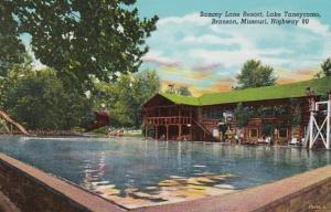 Missouri Branson Sammy Lane Resort Lake Taneycomo Curteich