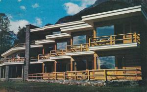 Exterior, Timberline Hotel,  Banff,  Alberta,  Canada,  PU_1958