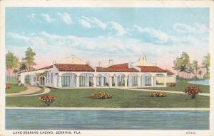SEBRING, Florida, 1900-1910´s; Lake Sebring Casino