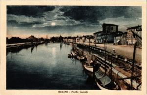 CPA Rimini Porto Canale.. ITALY (449161)