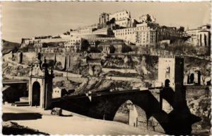 CPA Toledo Puente de Alcantara y Alcazar SPAIN (743847)