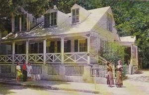 Florida Key West Oldest House Built 1823
