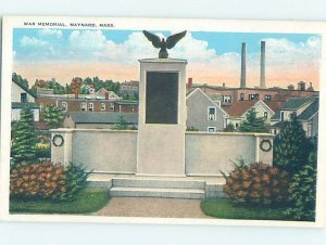 W-border MONUMENT SCENE Maynard Massachusetts MA AE7744