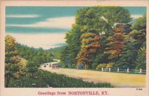 Kentucky Nortonville Greetings From Nortonville 1950