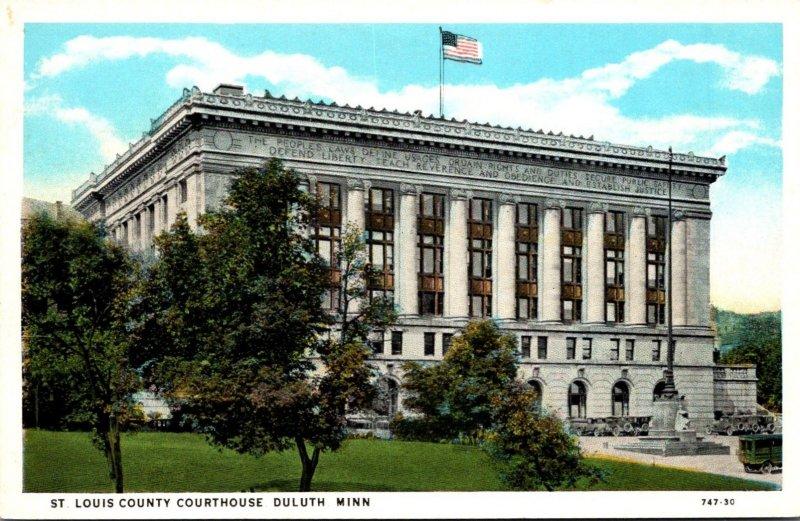 Minnesota Duluth St Louis County Court House Curteich