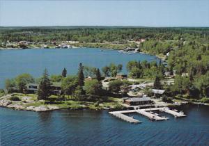 View of Harbour, Minaki, Ontario, Canada, 50-70´s