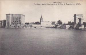 Le Chateau Du Roi Rene, Vue Prise Du Pont De Beaucaire, TARASCON (Bouches-du-...