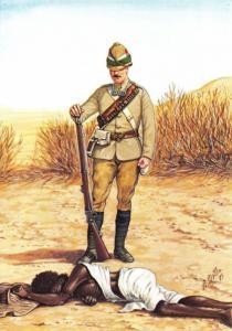 Postcard Fuzzy Wuzzy Rudyard Kipling Private 2nd Battalion Essex Reg 1885 #10-5