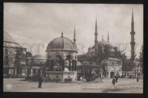 102223 TURKEY Constantinople Fontaine Guillaume II Vintage PC