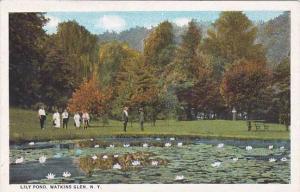New York Watkins Glen Lily Pond