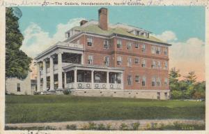 HENDERSONVILLE , North Carolina, 1900-10s ; The Cedars
