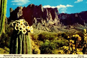 Arizona Superstition Mountain At Gateway To The Valley Of The Sun
