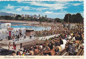 World Famous Kitsiland Beach,  West End,   Vancouver,   B.C.,  Canada,  50-70s