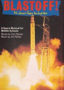 Blast Off 1970s Apollo Type Space Ship Shuttle UFO Travel Schools Musical Alb...