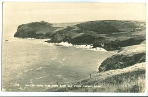 Kellan head and Port Quin Bay from Trevan Point, 1950s used