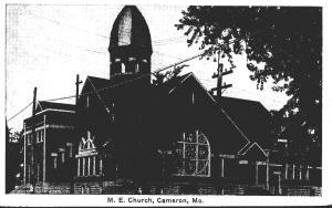 Missouri Cameron Methodist Episcopal Church