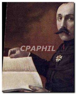 Postcard Former Army General Dubail