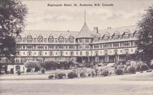 Canada New Brunswick St Andrews Algonquin Hotel